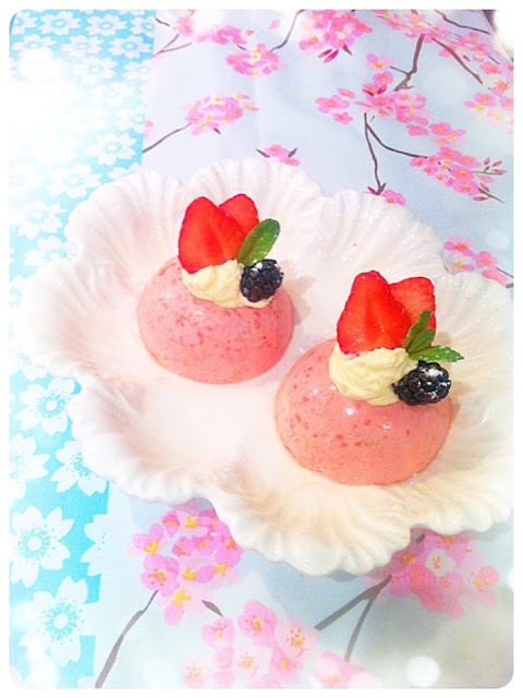 Cherie Kelly's Strawberry Mousse Cake