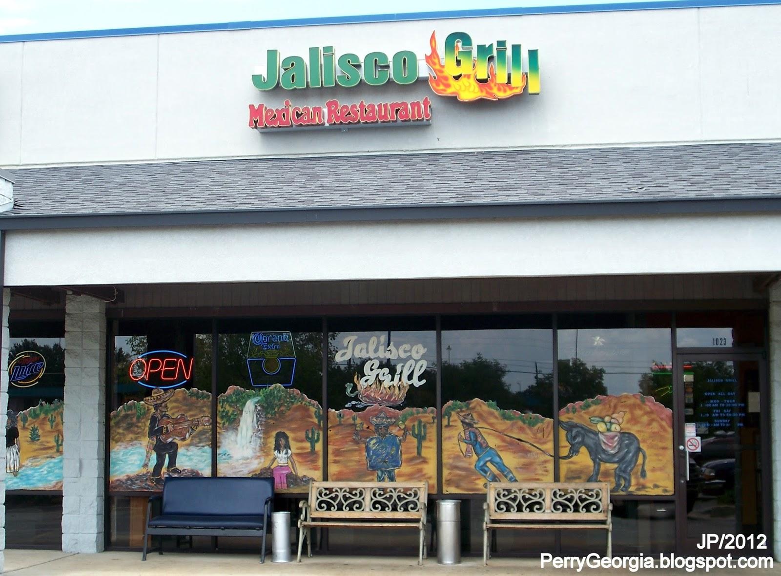 Jalisco Grill Perry Georgia Saint Patricks Drive Mexican Food Restaurant Houston County Ga