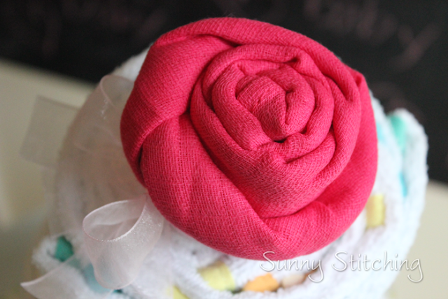 make a cloth rose
