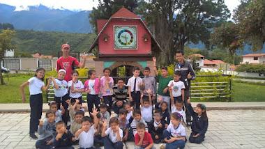 Niños y niñas de la CDN El Vergel visitan la Plaza Beethoven
