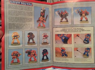 Citadel Colour Paint Set 1994 - Guide 3rd page