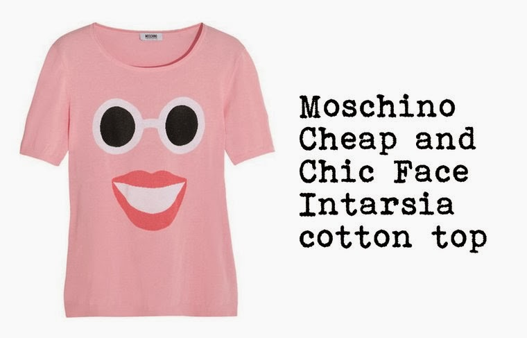 Moschino cheap and chic face-intarsia top, Fashion and Cookies, fashion blogger