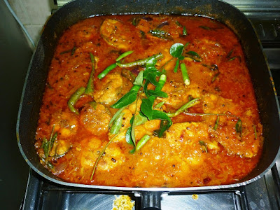 deepsrecipes home made fish curry