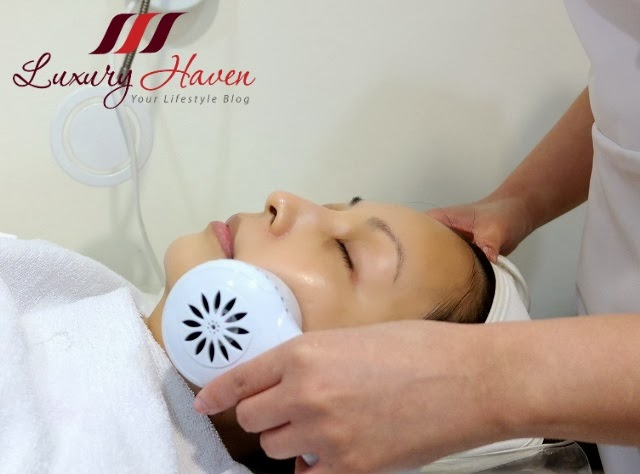 cold ultrasound to penetrate collagen ampoules