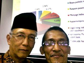 Kang Sutiyoso ( Admin Blog DIY ) dan Bp. KRT Jatiningrat