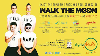 Walk The Moon Live At Ayala Malls