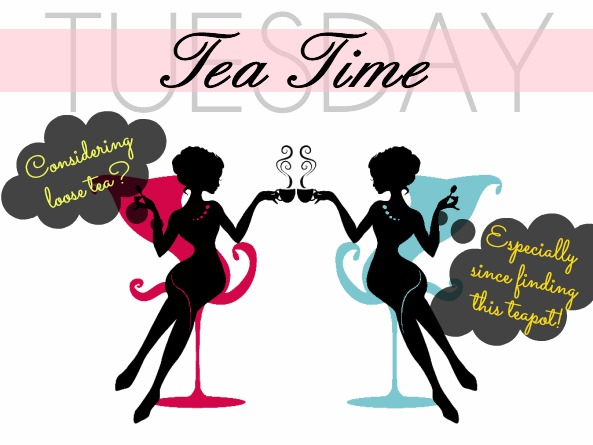 Tuesday Tea Time: ingenuiTEA Loose Leaf Tea Teapot — A Modern Mrs.