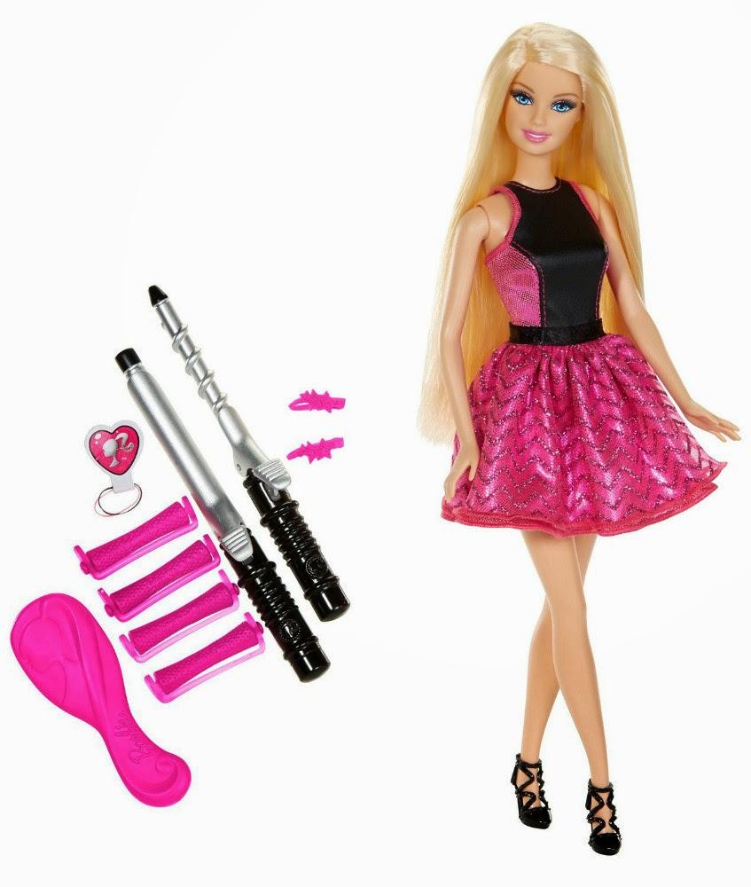 JUGUETES - BARBIE  Riza y Peina | Muñeca | Endless Curls  Producto Oficial | Mattel BMC01 | A partir de 5 años