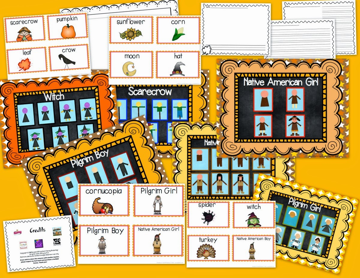 http://www.teacherspayteachers.com/Product/Draw-Cut-Create-Fall-Fun-Pack-143327