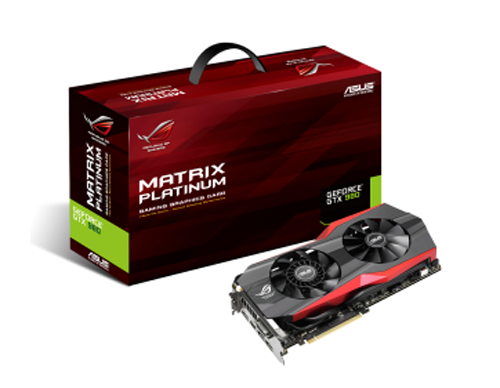 ASUS GTX980 ROG MATRIX PLATINUM 4GD5