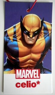 Etiquette du Tshirt Wolverine - collection Marvel Celio