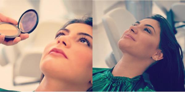 Bárbara Urias- maquiagem básica para o dia a dia por Hugo Martins do salão Platinum Visage