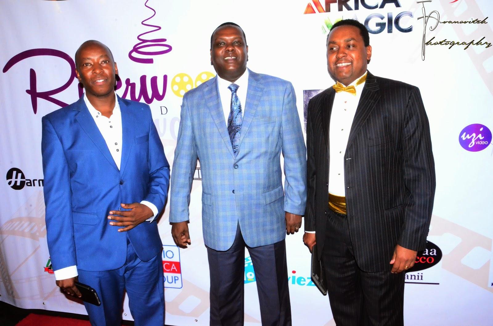 Kangethe Mungai, Hassan Wario and Mwaniki Mageria