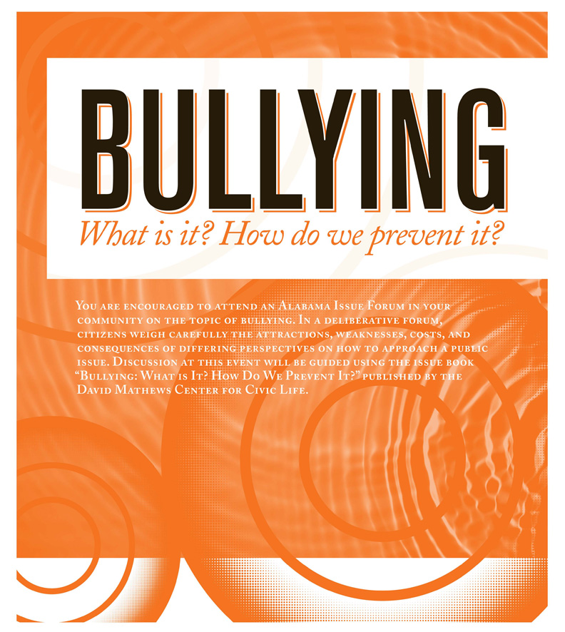 bullying forums poster