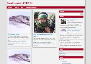 Responsive HTML5 V4