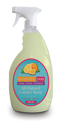 All Natural Counter Spray by Radiantly You
