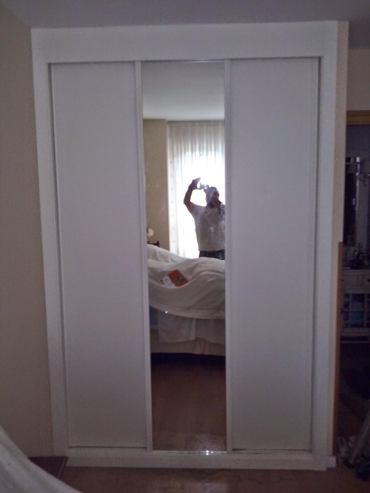 Maderarte siero frentes e interiores de armarios - Interiores armarios empotrados puertas correderas ...