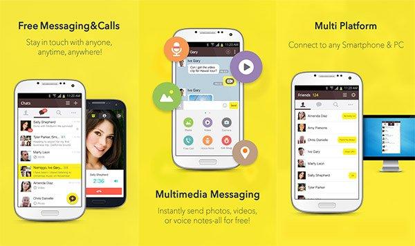 KakaoTalk para Android actualizado a la versión 4.5.0