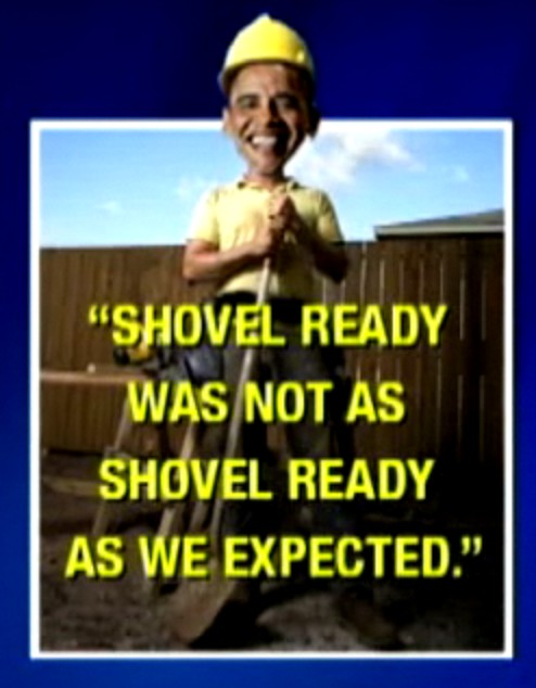 Obama shovel ready jobs
