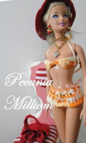 Barbie Moda Praia por Pecunia MM