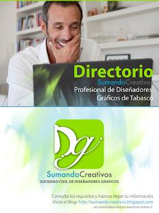 Directorio Sumando Creativos Profesional de Diseñadores Gráficos de Tabasco