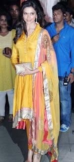 Gurgeous Deepiak Padukone at Director Rohit Shetty's sister's wedding