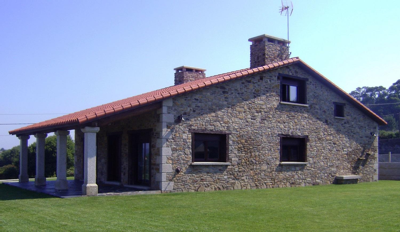 Construcciones r sticas gallegas bajo cubierta - Casas rusticas gallegas ...