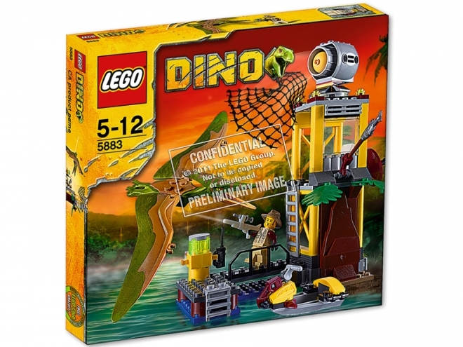 The brick brown fox lego dino 2012 sets - Dinosaure lego ...