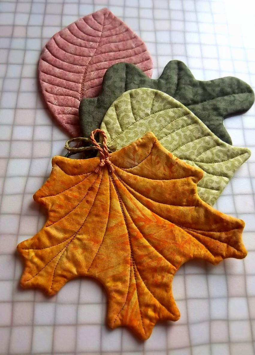 Дубовые листья своими руками 33