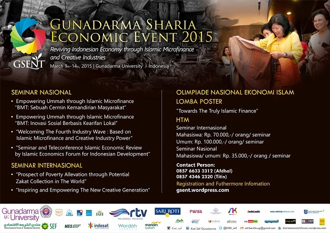 Browsur GUNADARMA SHARIA ECONOMIC EVENT (GSENT) 2015