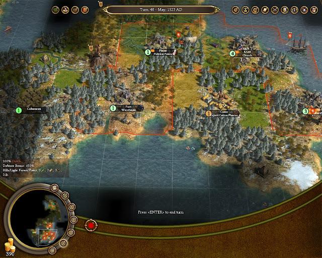 Civilization 4 Colonization - Native Tribes Screenshot