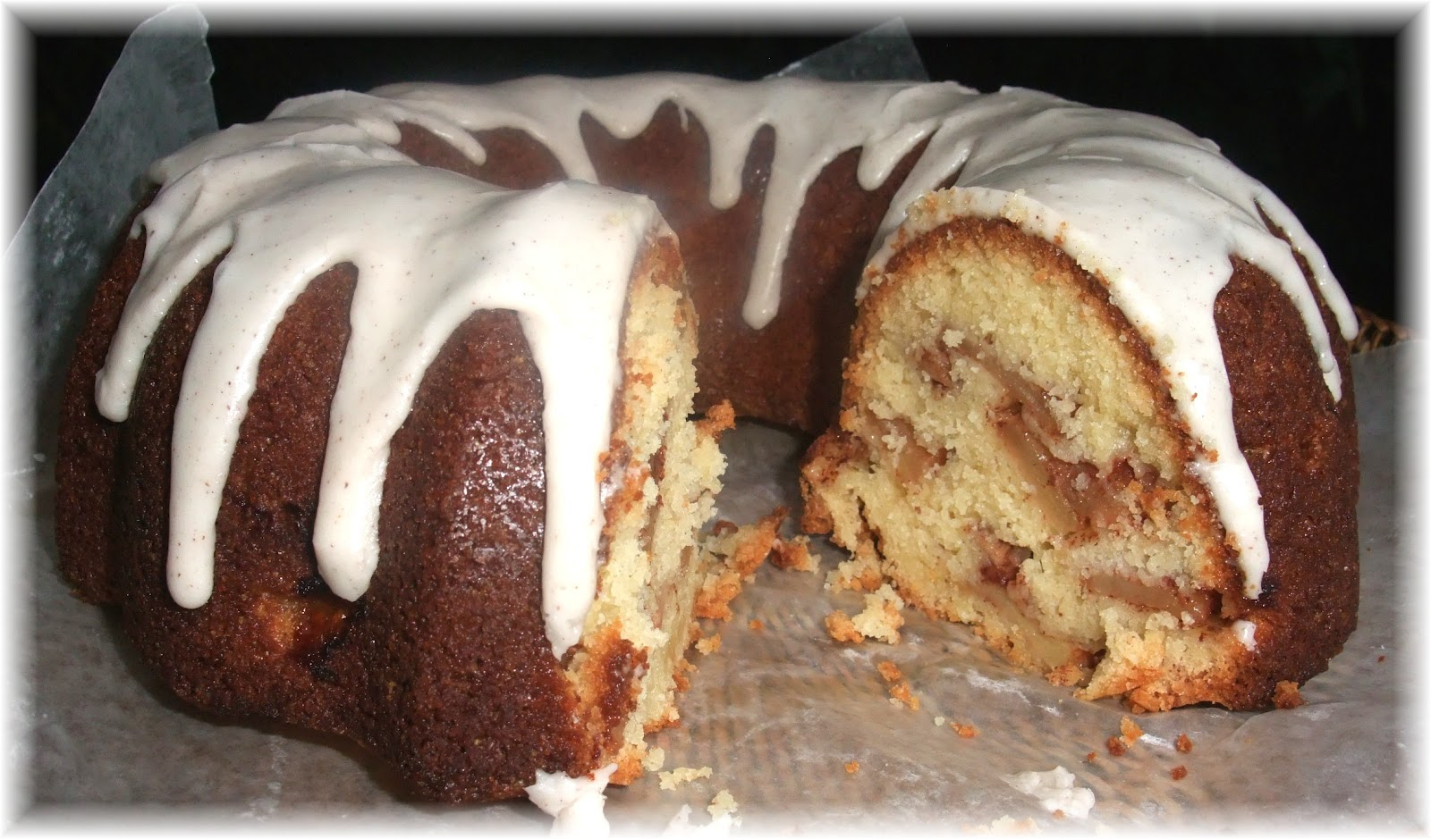 Gala Apple Bundt Cake