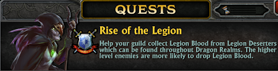 Rise of the Legion Guild Event