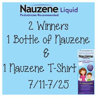 Nauzene Liquid #Giveaway