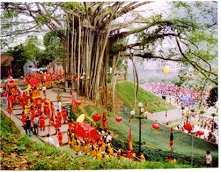 Thuong Temple Spring Festival Sapa