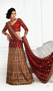 Indian-Bridal-A-Line-Lehenga