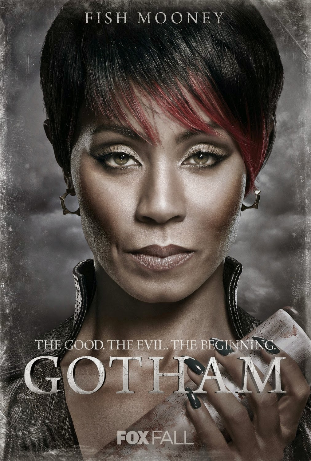 "Gotham ""The Good. The Evil. The Beginning."" Character TV Poster Set - Jada Pinkett Smith as Fish Mooney"