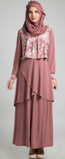 Baju Muslim Wanita Brokat