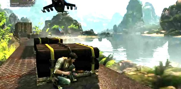 ANÁLISIS: SAGA UNCHARTED Uncharted-2-train-gameplay