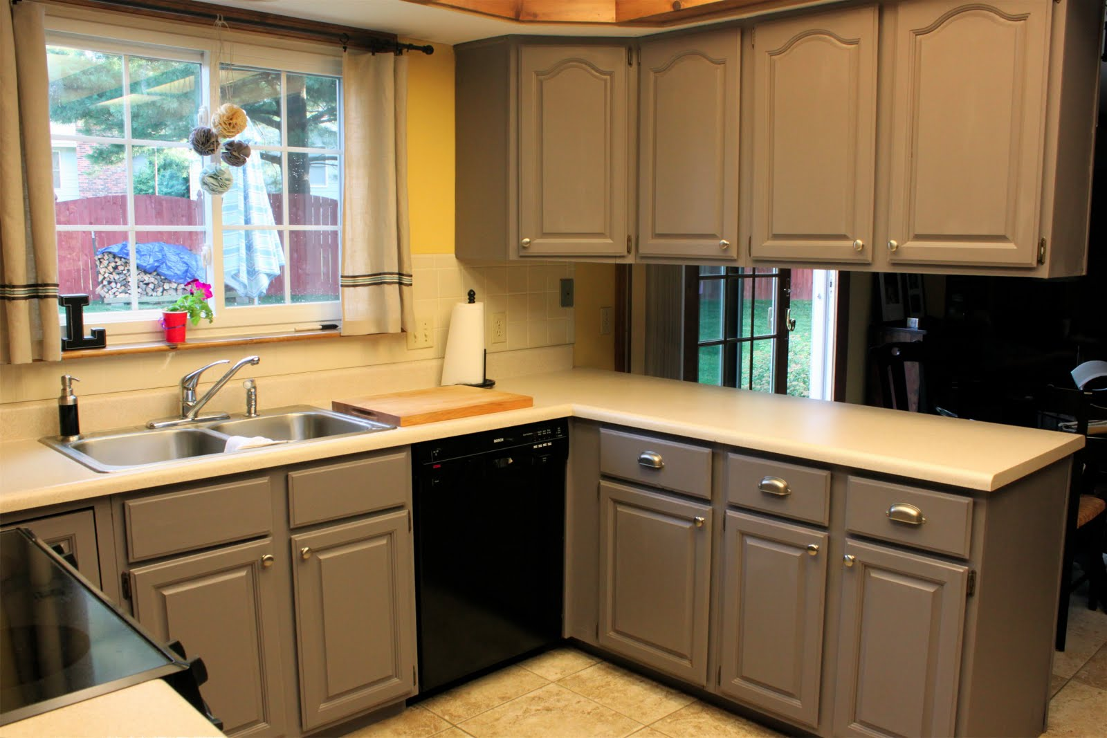 645 workshop by the crafty cpa work in progress painting kitchen cabinets - Painted kitchen cabinets ideas ...