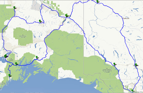 Route juni-juli 2012