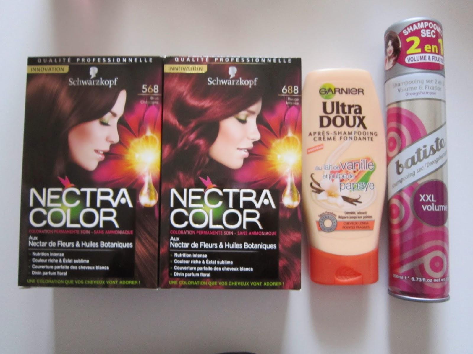 coloration nectra color rouge intense et brun chtaigne au nectar de fleurs et huiles botaniques 395e lunit - Coloration Leclerc