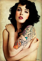 pin up girl tattoo