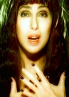 Cher in her 'Believe' music video