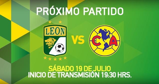 Trasmision en vivo León vs América Apertura 2014 Futbol Mexicano