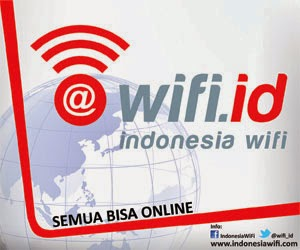 Kumpulan Username dan Password WIFI ID 26 April 2015