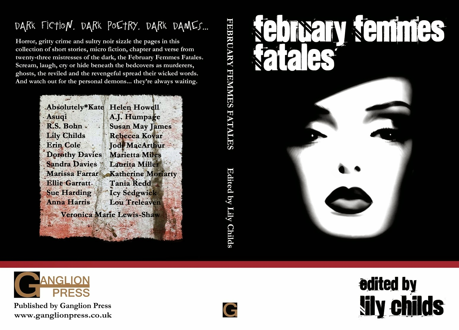 The cover of the February Femmes Fatales paperback