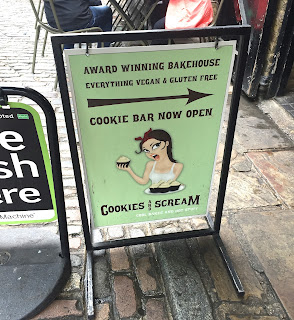 Cookies and Scream Camden Lock London Vegan Gluten-Free