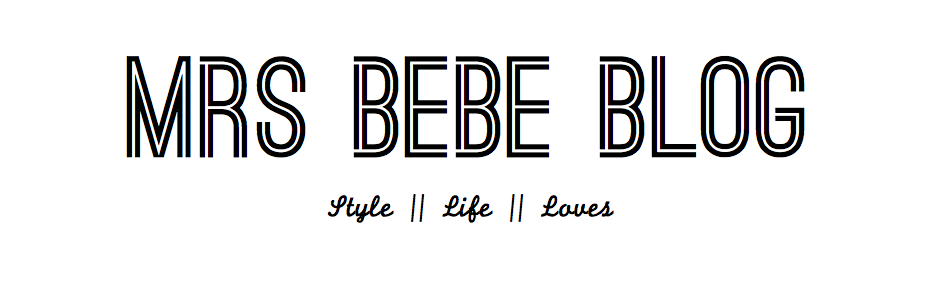 Mrs BeBe Blog