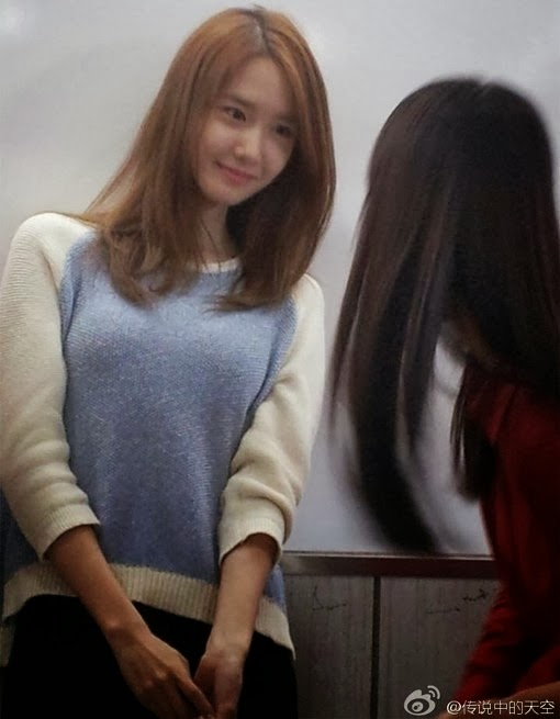 Girls' Generation's YoonA spotted attending class